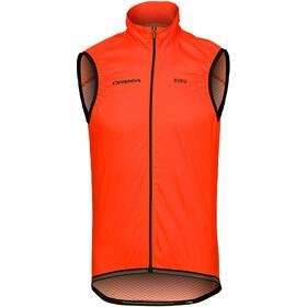 Orbea Light Windbreaker Gilet Men, orange